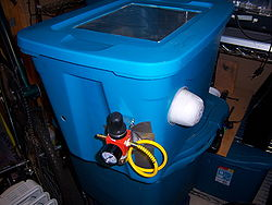 Sand Blasting Cabinet - MidsouthMakers - Memphis Area Hackerpace